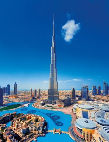 Dubaj - Burdž Chalífa